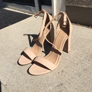 Nude strap heels 30% off bundle